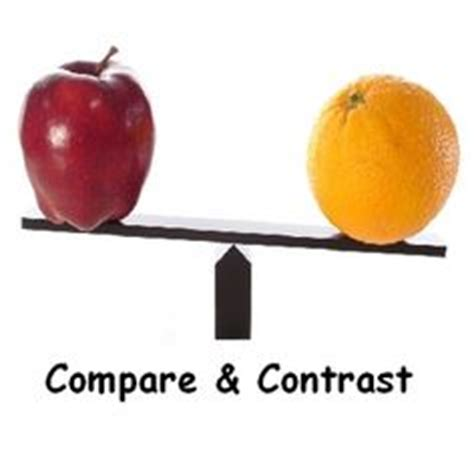 How to Write a Compare and Contrast Essay: Good Topics